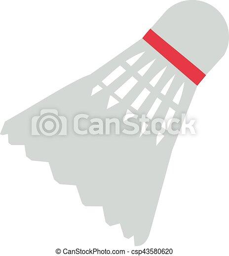 Badminton Shuttlecock - csp43580620