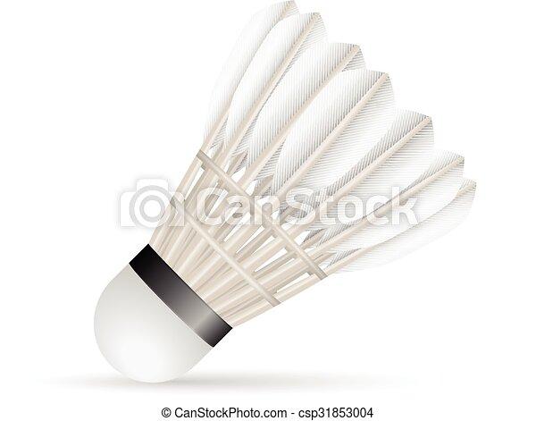 Badminton shuttlecock - csp31853004