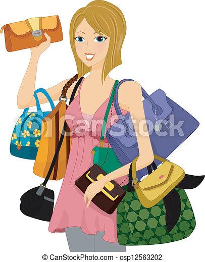 Bag Collector - csp12563202