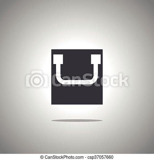 bag icon - csp37057660