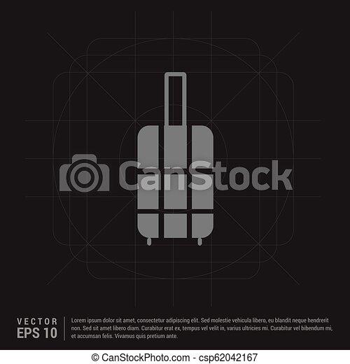 Bag icon - csp62042167