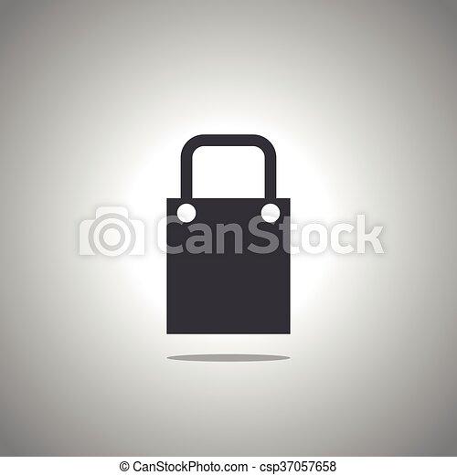 bag icon - csp37057658