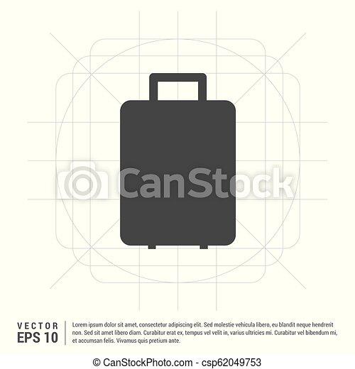 Bag icon - csp62049753