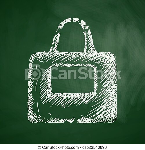 bag icon - csp23540890