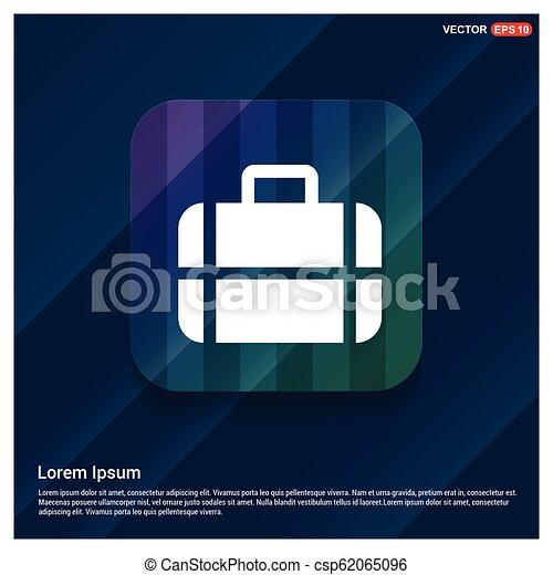 Bag icon - csp62065096