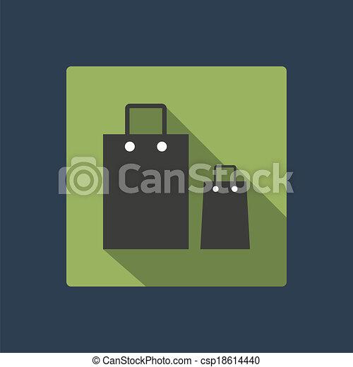 bag icon - csp18614440