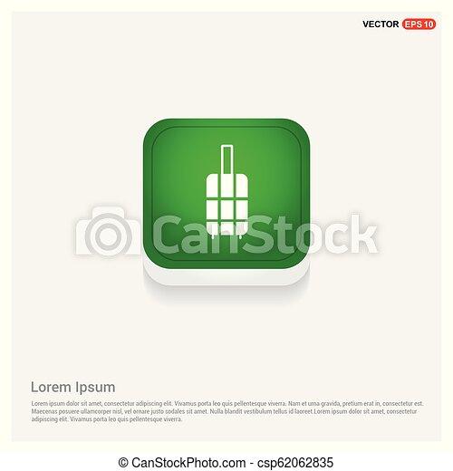 Bag icon - csp62062835