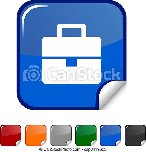 Bag icon. - csp8419623