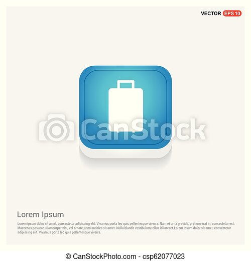 Bag icon - csp62077023