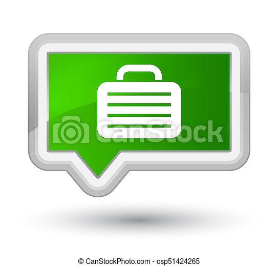 Bag icon prime green banner button - csp51424265