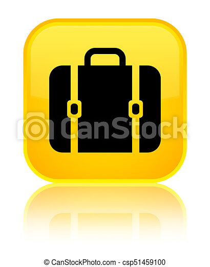 Bag icon special yellow square button - csp51459100