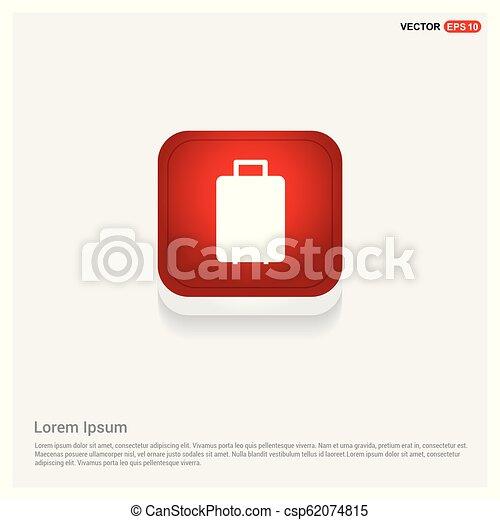 Bag icon - csp62074815
