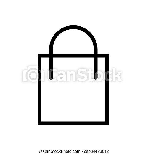 Bag Icon - csp84423012
