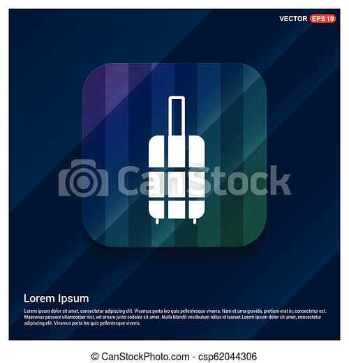 Bag icon - csp62044306