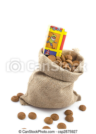 Bag of cookies - csp2875927