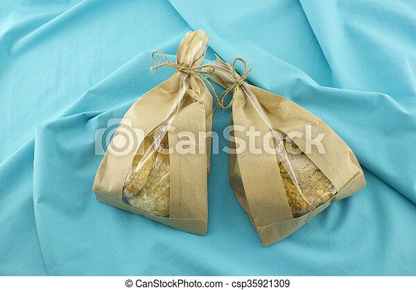Bag of cookies - csp35921309