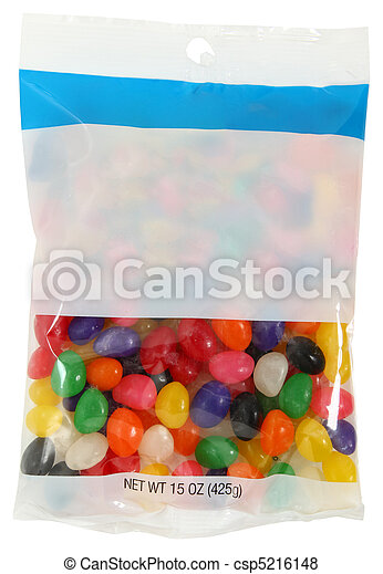 Bag of Jelly Beans - csp5216148