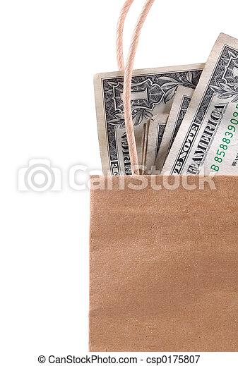 Bag of Money - csp0175807