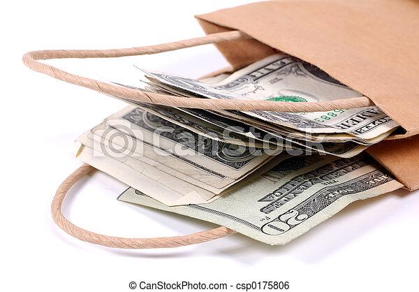 Bag of Money - csp0175806