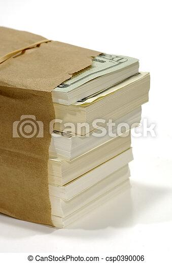 Bag of Money - csp0390006