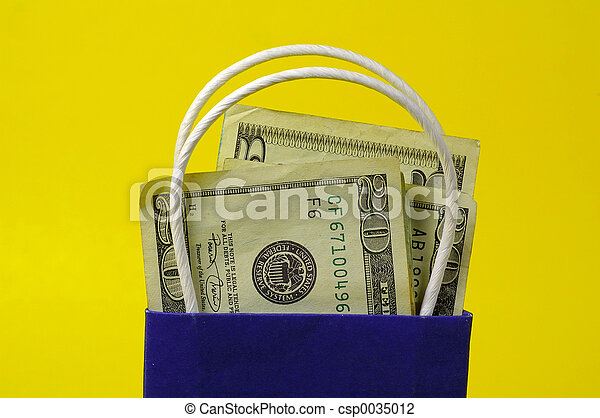 Bag of Money - csp0035012