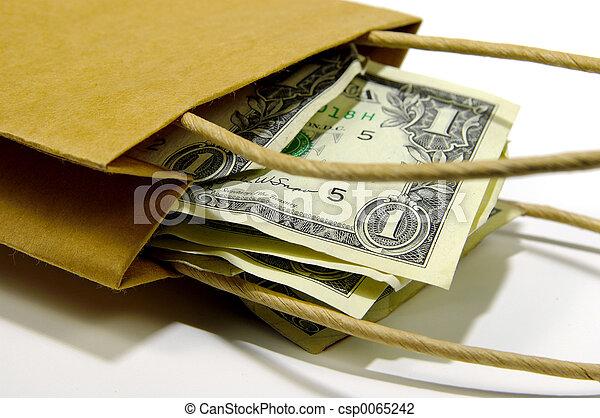 Bag of Money - csp0065242