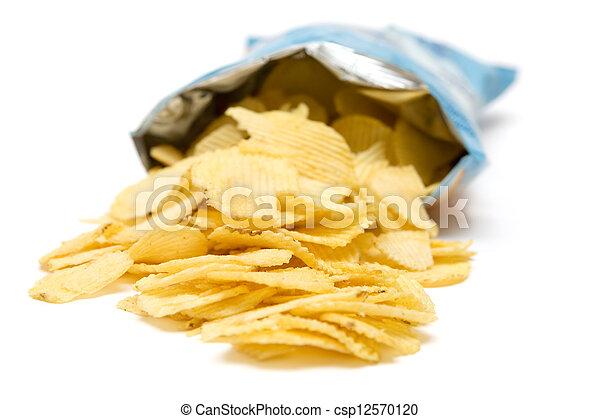 Bag of Potato Chips - csp12570120
