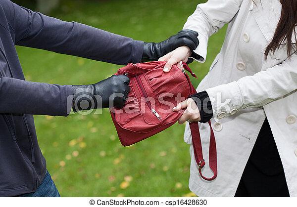 Bag theft - csp16428630