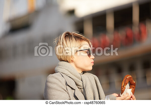 Bagel Frau