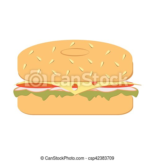fresh bagel sandwich vector rh canstockphoto com Bite the Bagel Clip Art Bagel with Cream Cheese Clip Art