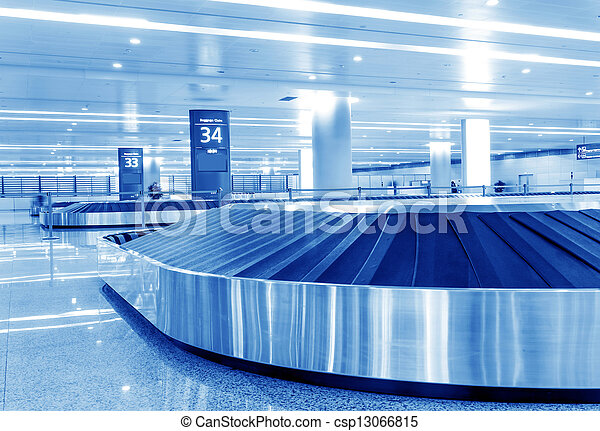 baggage claim - csp13066815