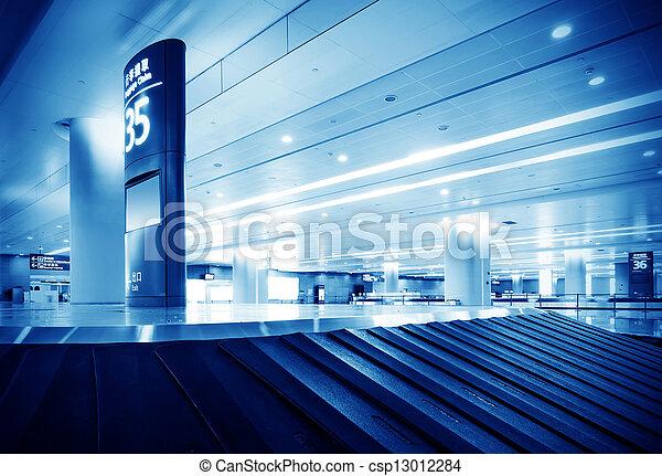 baggage claim - csp13012284
