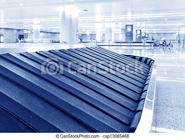 baggage claim - csp13065468