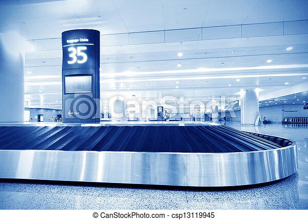 baggage claim - csp13119945