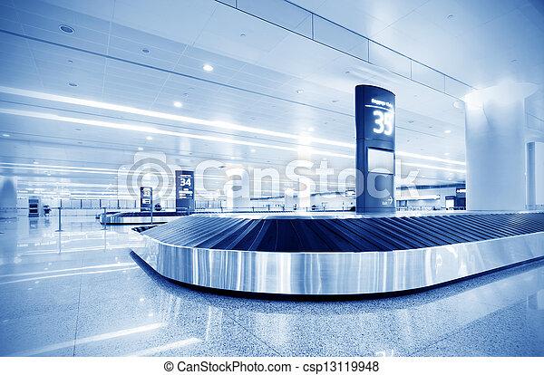 baggage claim - csp13119948