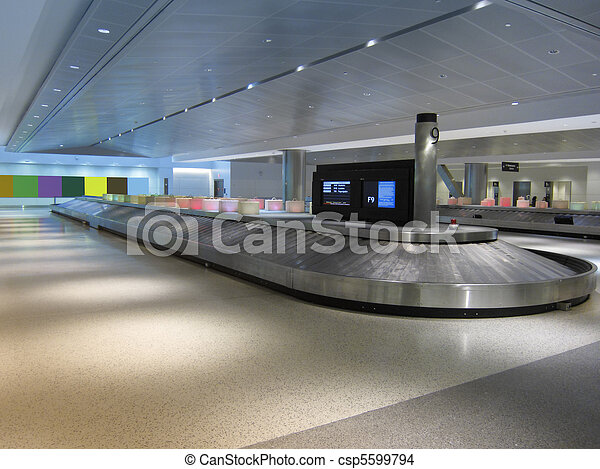 Baggage claim - csp5599794