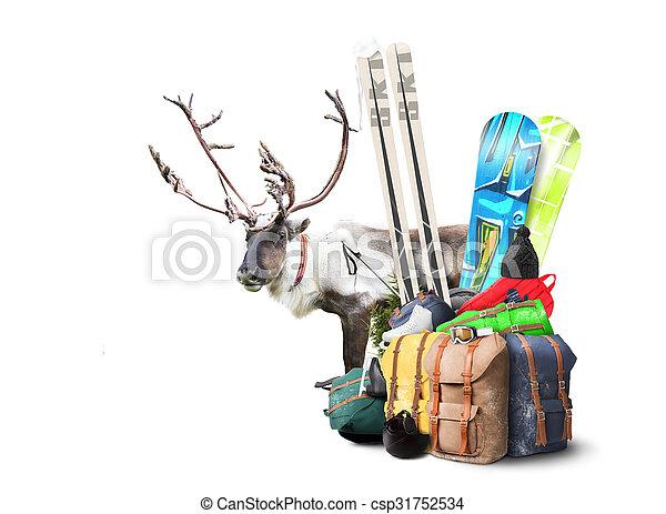 Baggage tourist  - csp31752534