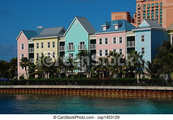 Edificios en Paradise Island Bahamas - csp1453129