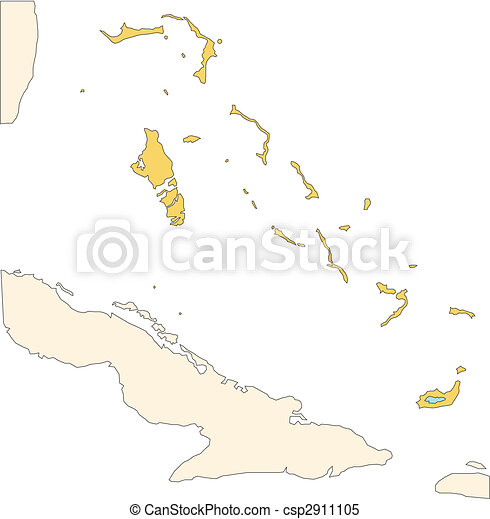 Bahamas, Islands - csp2911105
