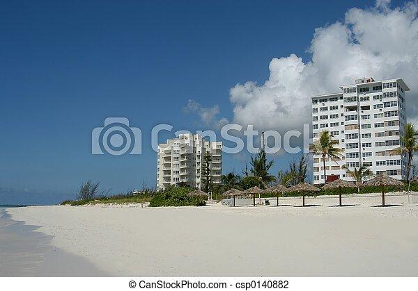 La playa de Bahamas - csp0140882