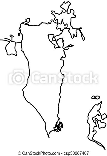 Bahrain map of black contour curves of vector illustration on map of oman, map of western europe, map of sinai peninsula, map of mediterranean countries, map of persian gulf, map of cote d'ivoire, map of italy, map of croatia, map of eritrea, map of greece, map of qatar, map of djibouti, map of kuwait, map of philippines, map of australia, map of czech republic, map saudi arabia, map of western sahara, map of sri lanka, map of middle east,
