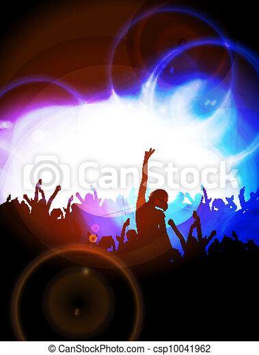 Gente bailando - csp10041962