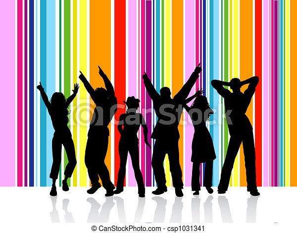 Bailando - csp1031341