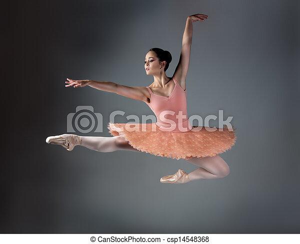 Mujer bailarina de ballet - csp14548368