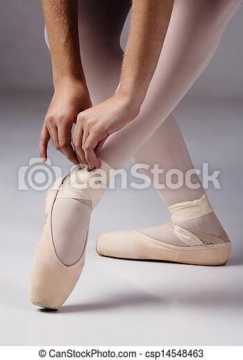 Mujer bailarina de ballet - csp14548463