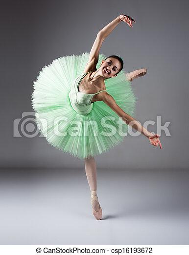 Mujer bailarina de ballet - csp16193672