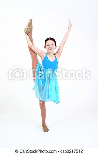 Bailarina - csp0217512