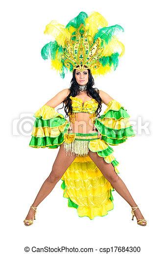 Bailarina de carnaval - csp17684300