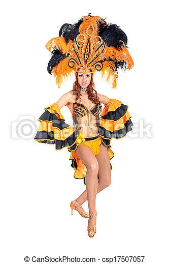 Bailarina de carnaval - csp17507057