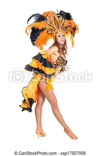 Bailarina de carnaval - csp17507058